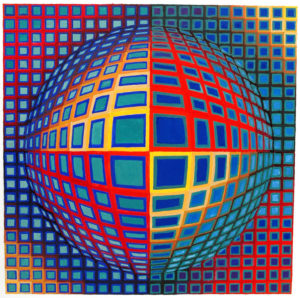 """Vega-Nor"" Victor Vasarely (1969)"