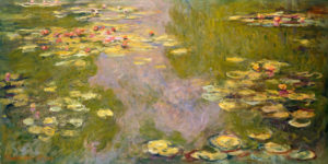 "Claude Monet ""Water Llies"" 1919"